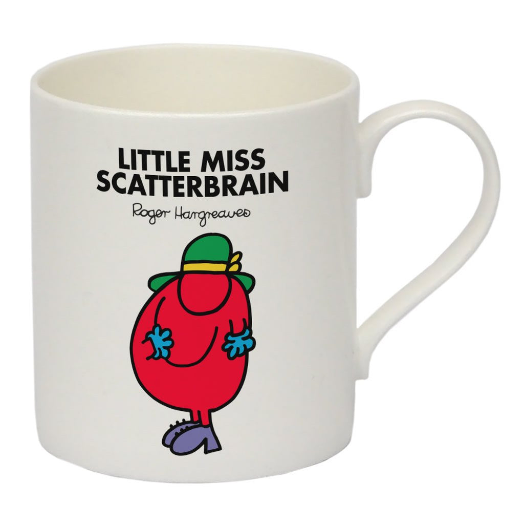 Little Miss Scatterbrain Bone China Mug