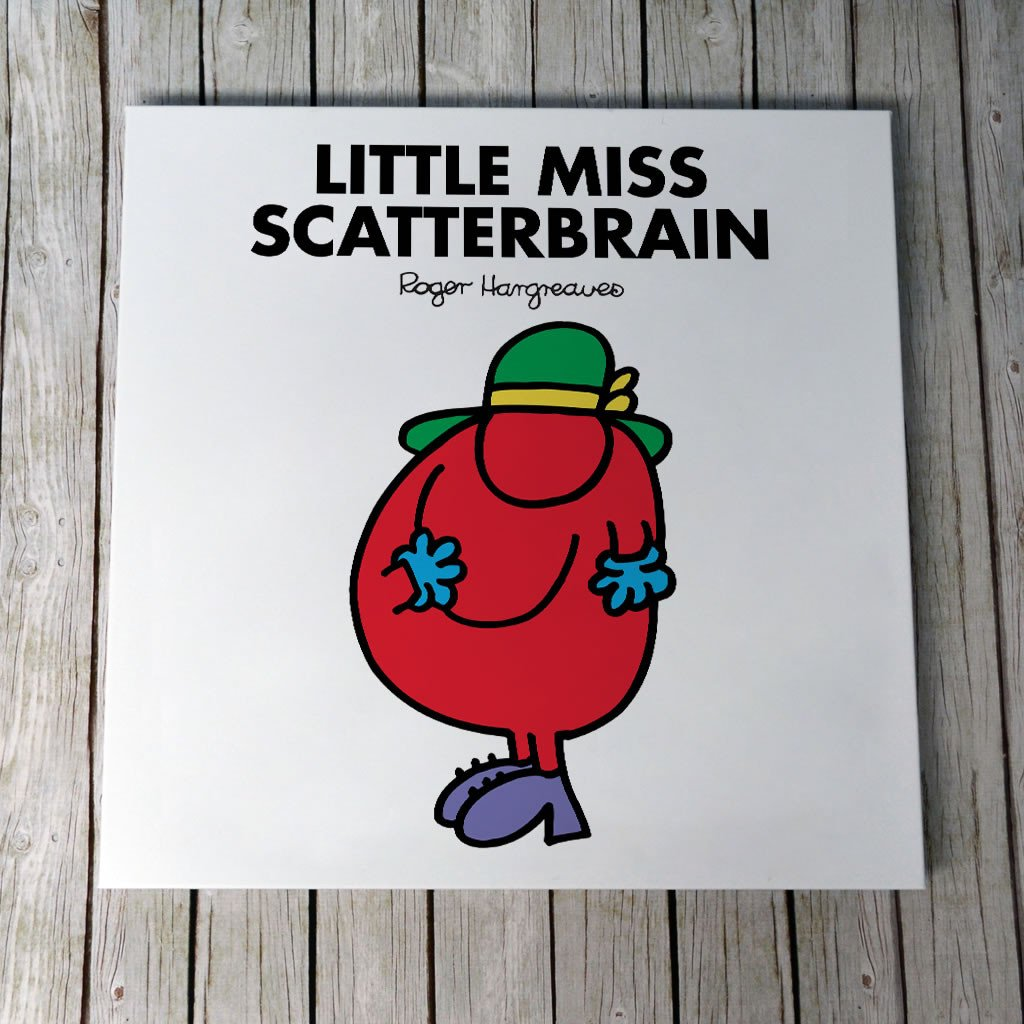 Little Miss Scatterbrain Canvas (Lifestyle)