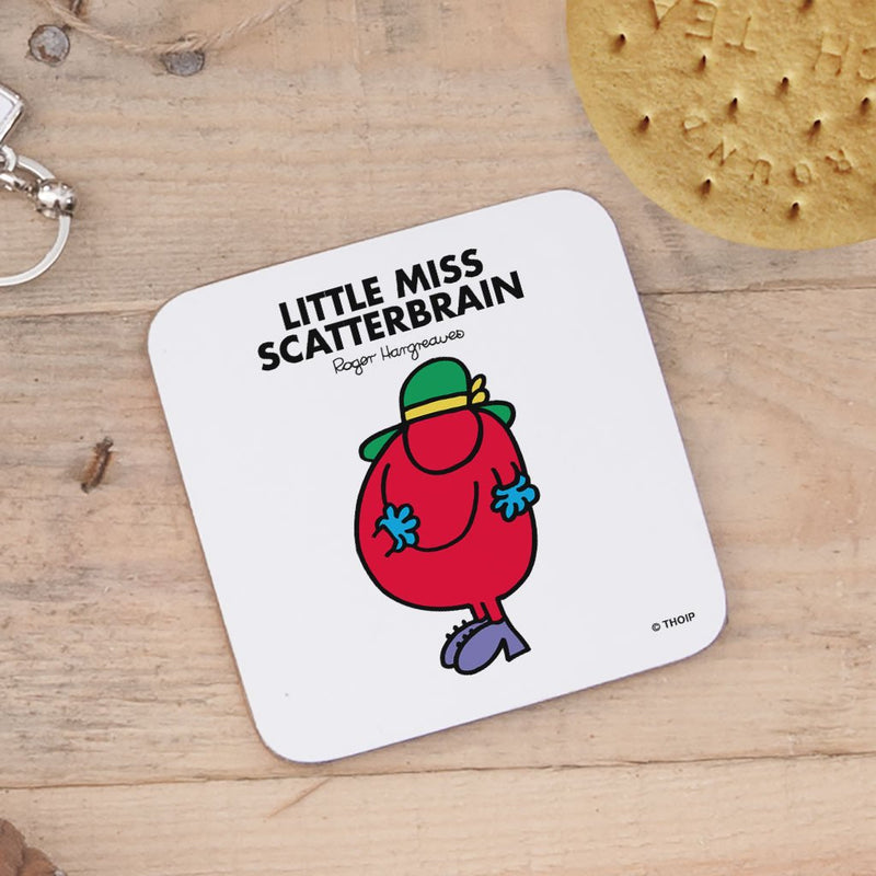 Little Miss Scatterbrain Cork Coaster (Lifestyle)