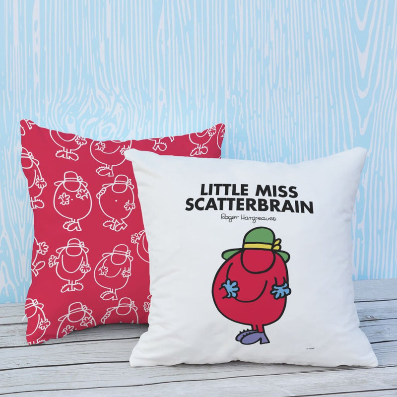 Little Miss Scatterbrain Micro Fibre Cushion (Lifestyle)