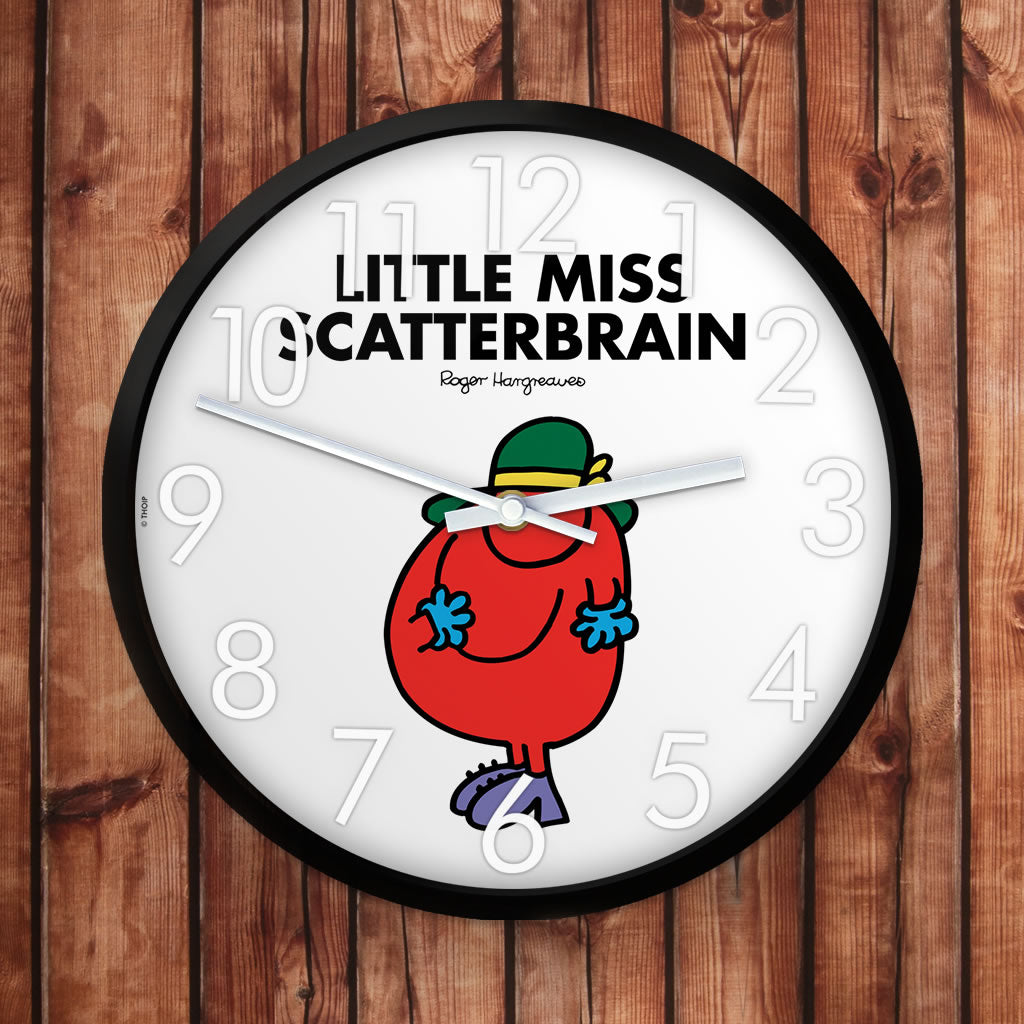 Little Miss Scatterbrain Personalised Clock (Lifestyle)