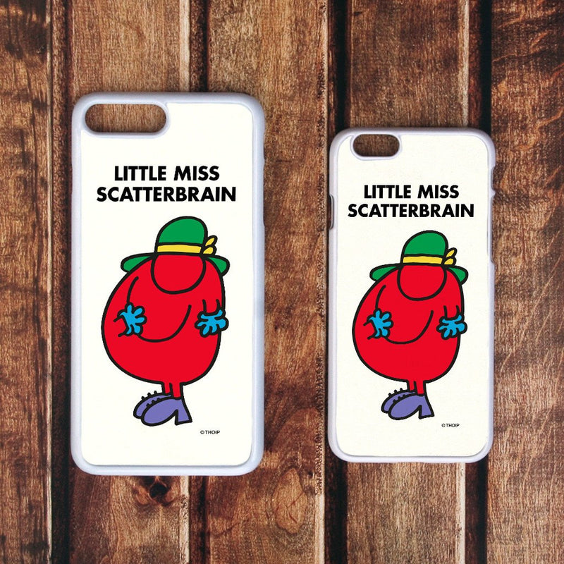 Little Miss Scatterbrain White Phone Case (Lifestyle)