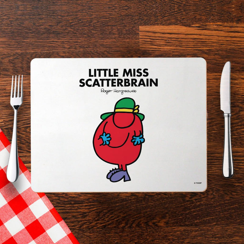 Little Miss Scatterbrain Cork Placemat (Lifestyle)