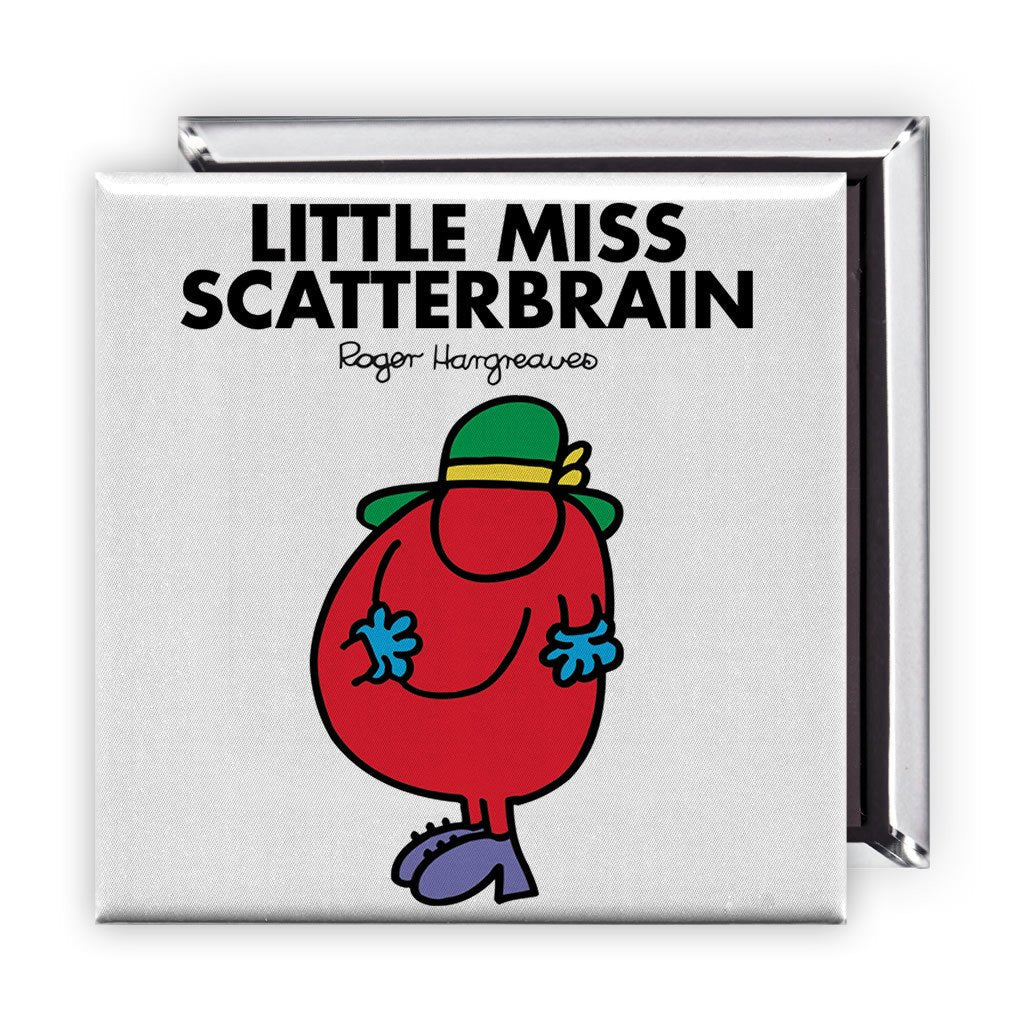 Little Miss Scatterbrain Square Magnet