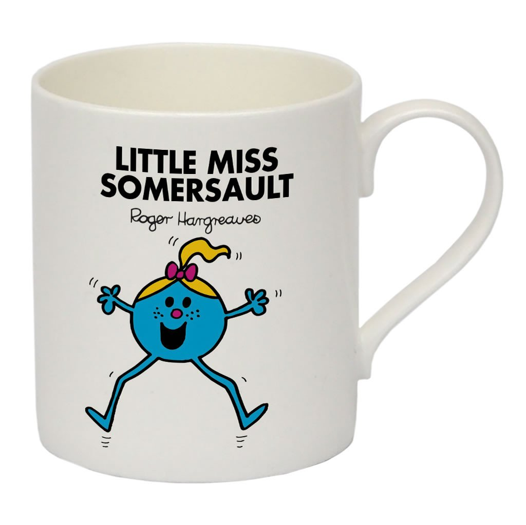 Little Miss Somersault Bone China Mug