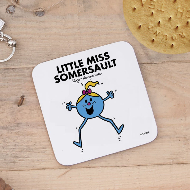 Little Miss Somersault Cork Coaster (Lifestyle)