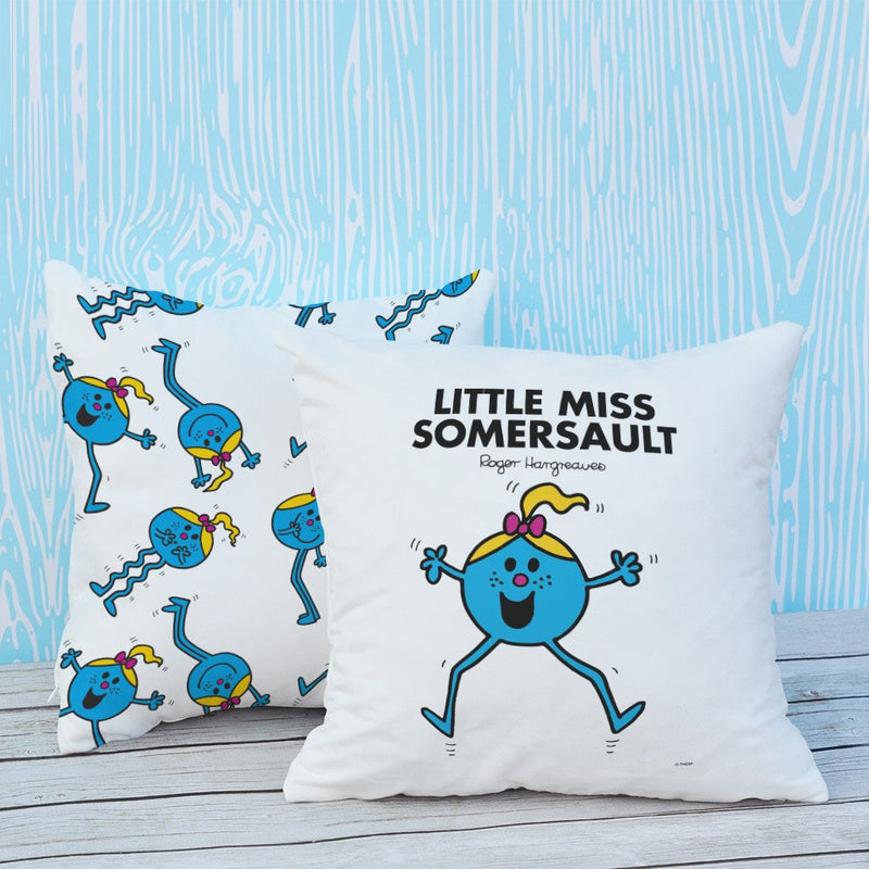 Little Miss Somersault Micro Fibre Cushion (Lifestyle)