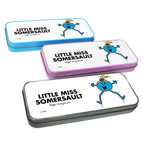 Little Miss Somersault Pencil Case Tin