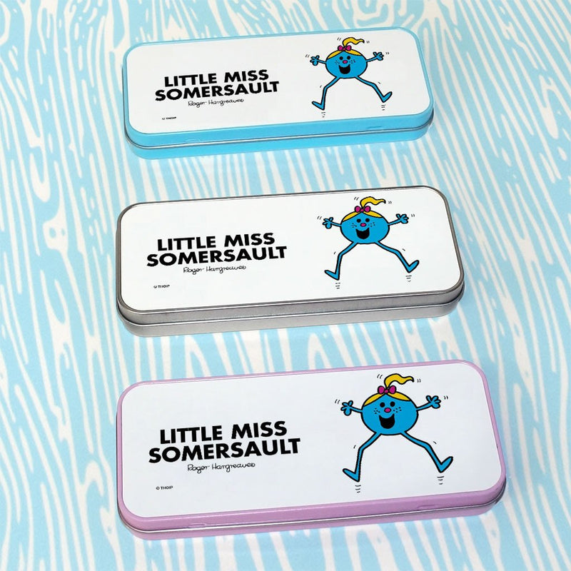 Little Miss Somersault Pencil Case Tin (Lifestyle)