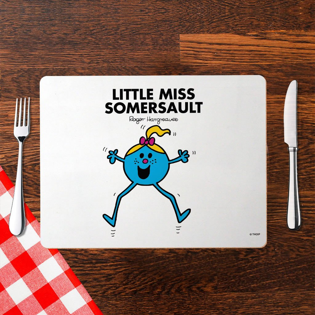 Little Miss Somersault Cork Placemat (Lifestyle)