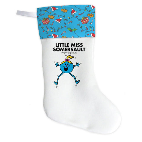 Little Miss Somersault Christmas Stocking (Front)