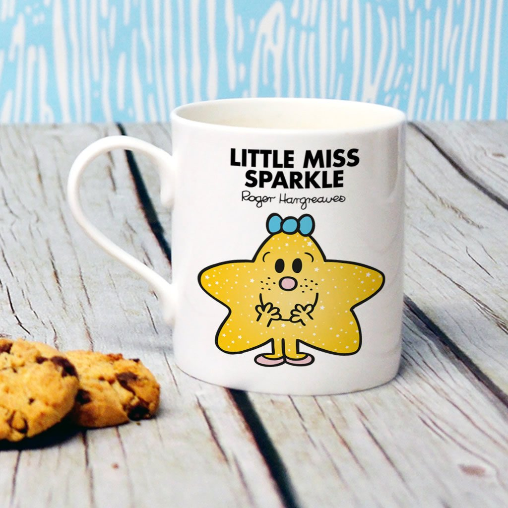 Little Miss Sparkle Bone China Mug (Lifestyle)