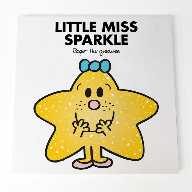 Little Miss Sparkle Canvas