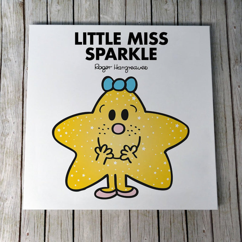 Little Miss Sparkle Canvas (Lifestyle)