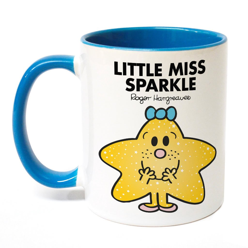Little Miss Sparkle Large Porcelain Colour Handle Mug