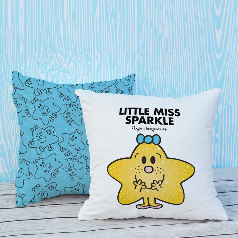Little Miss Sparkle Micro Fibre Cushion (Lifestyle)