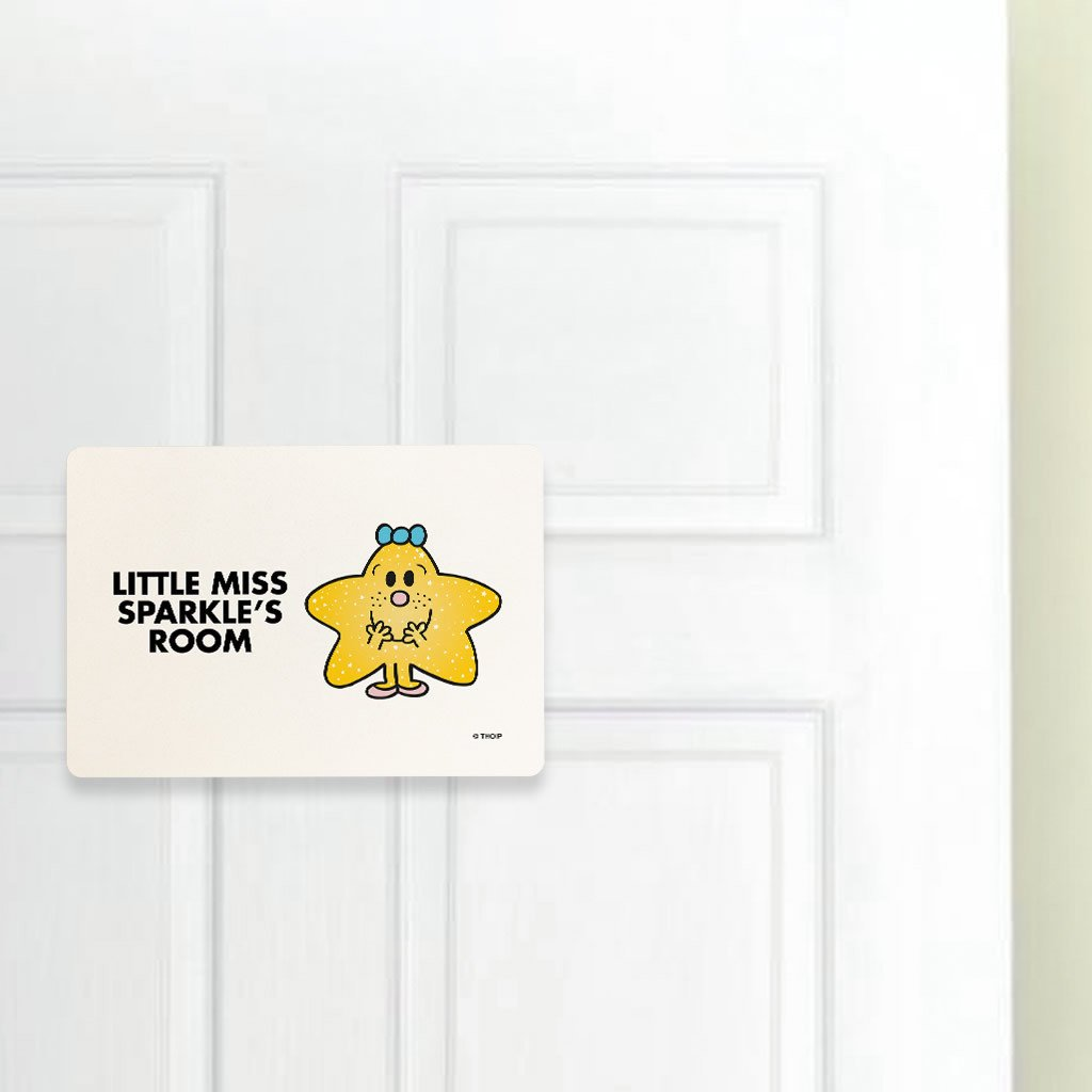 Little Miss Sparkle Door Plaque (Lifestyle)