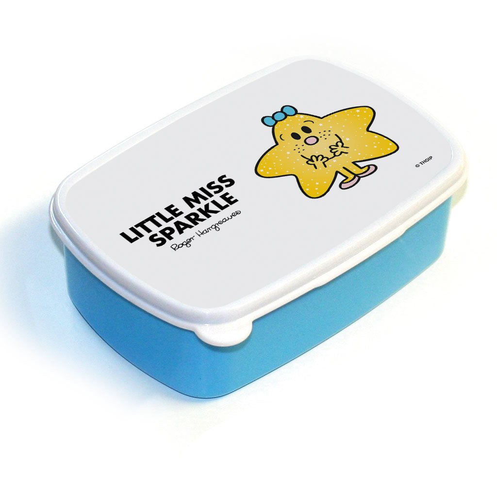Little Miss Sparkle Lunchbox (Blue)