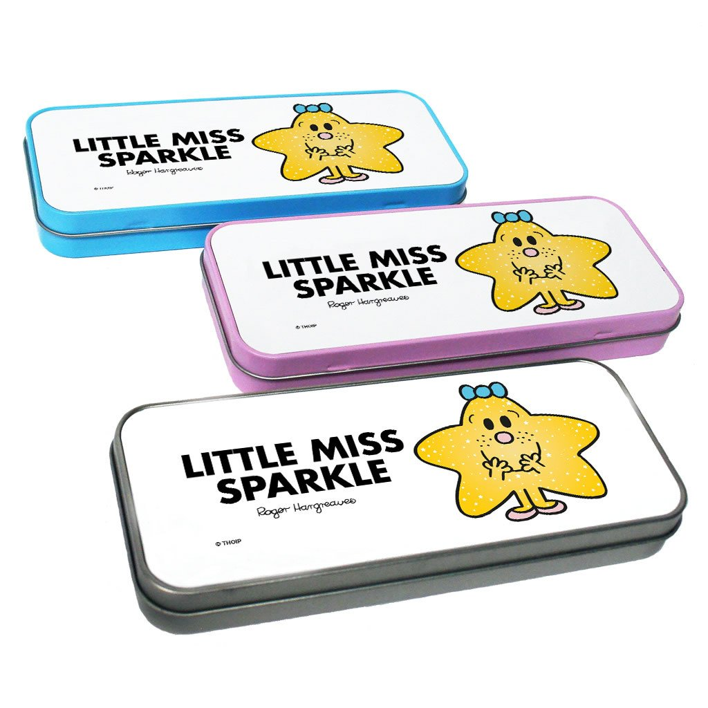 Little Miss Sparkle Pencil Case Tin