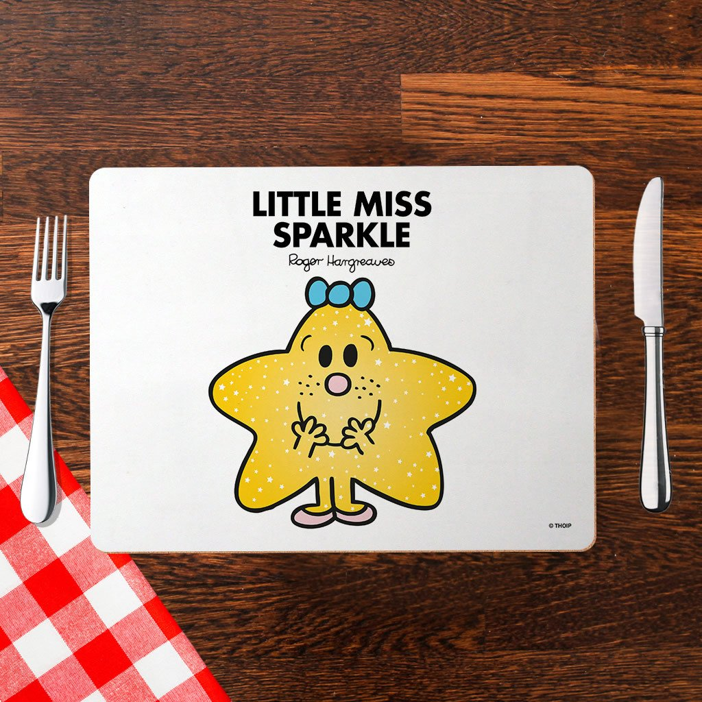 Little Miss Sparkle Cork Placemat (Lifestyle)