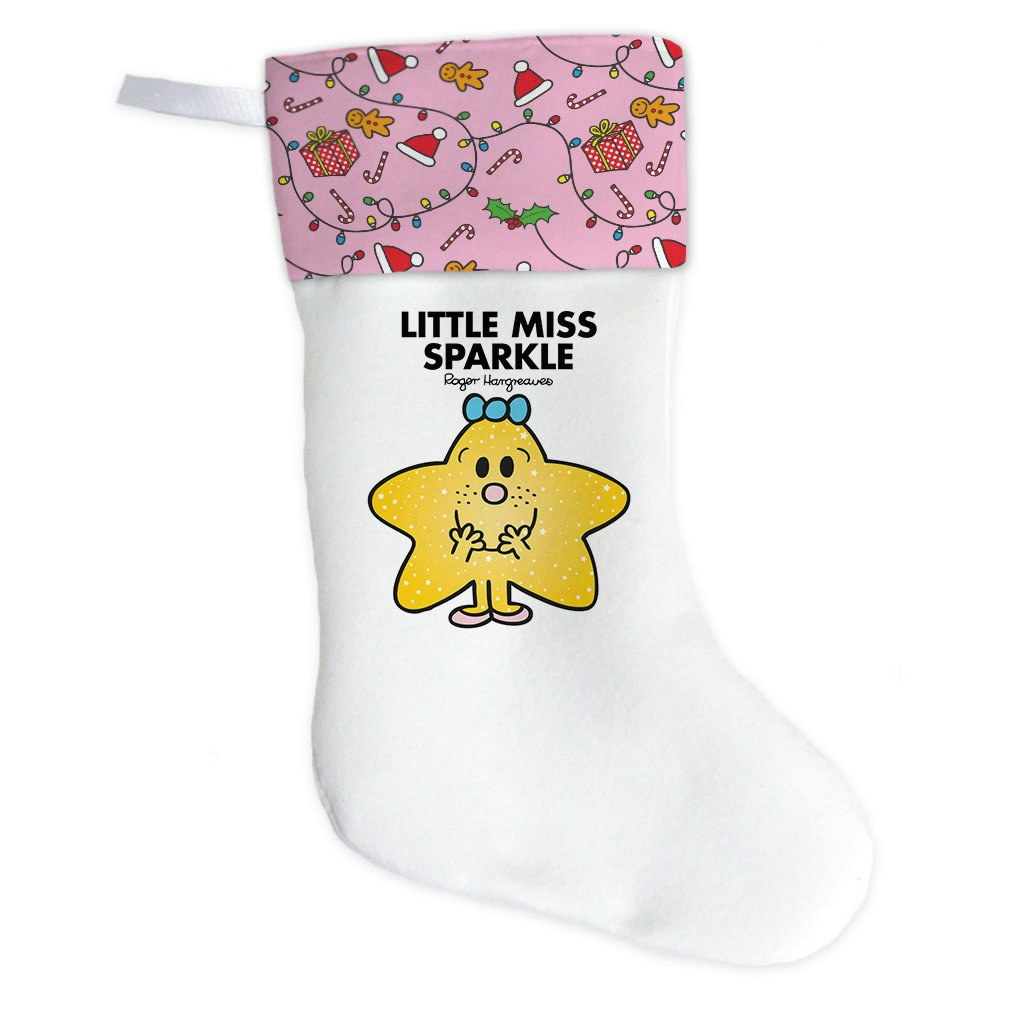 Little Miss Sparkle Christmas Stocking (Front)
