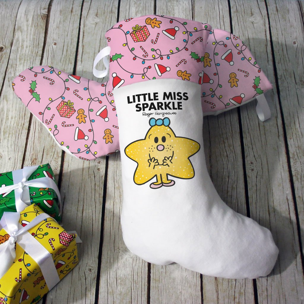 Little Miss Sparkle Christmas Stocking (Lifestyle)