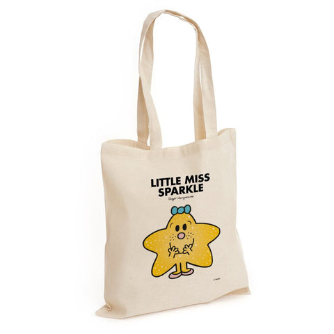 Little Miss Sparkle Long Handled Tote Bag