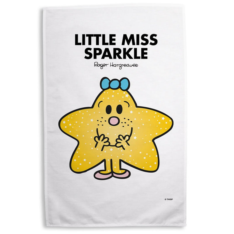 Little Miss Sparkle Tea Towel
