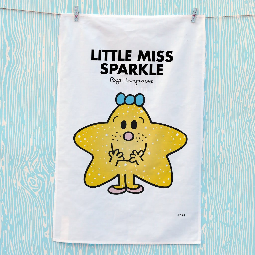 Little Miss Sparkle Tea Towel (Lifestyle)