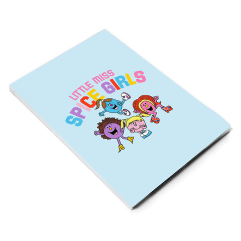 Little Miss Spice Girls notebook