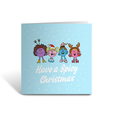 Little Miss Spice Girls Christmas Card