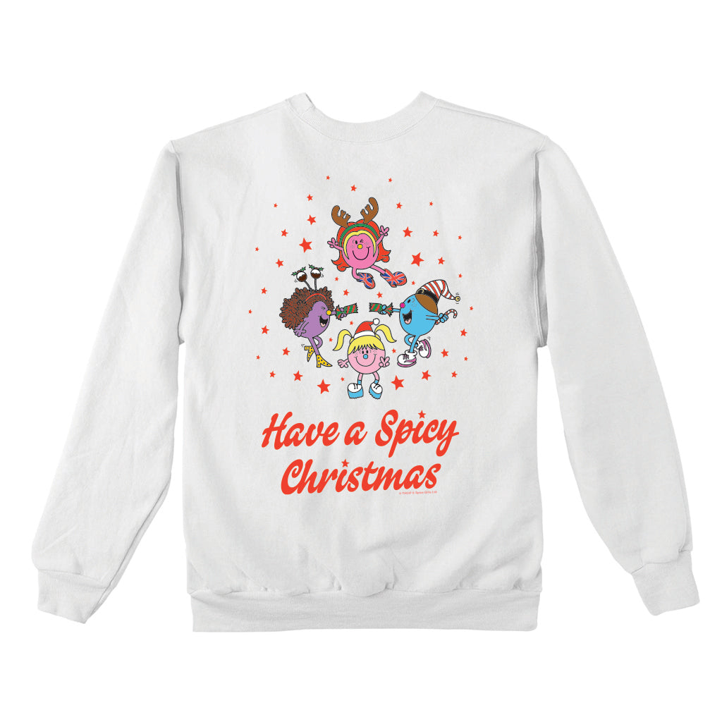 Little Miss Spice Girls Christmas Jumper
