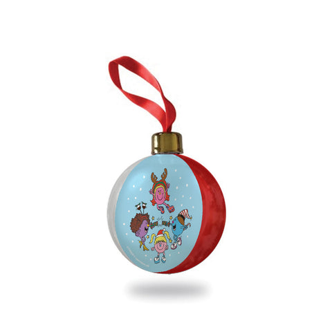 Little Miss Spice Girls Christmas Bauble
