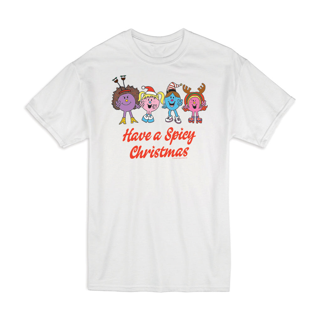 Little Miss Spice Girls Christmas T-Shirt