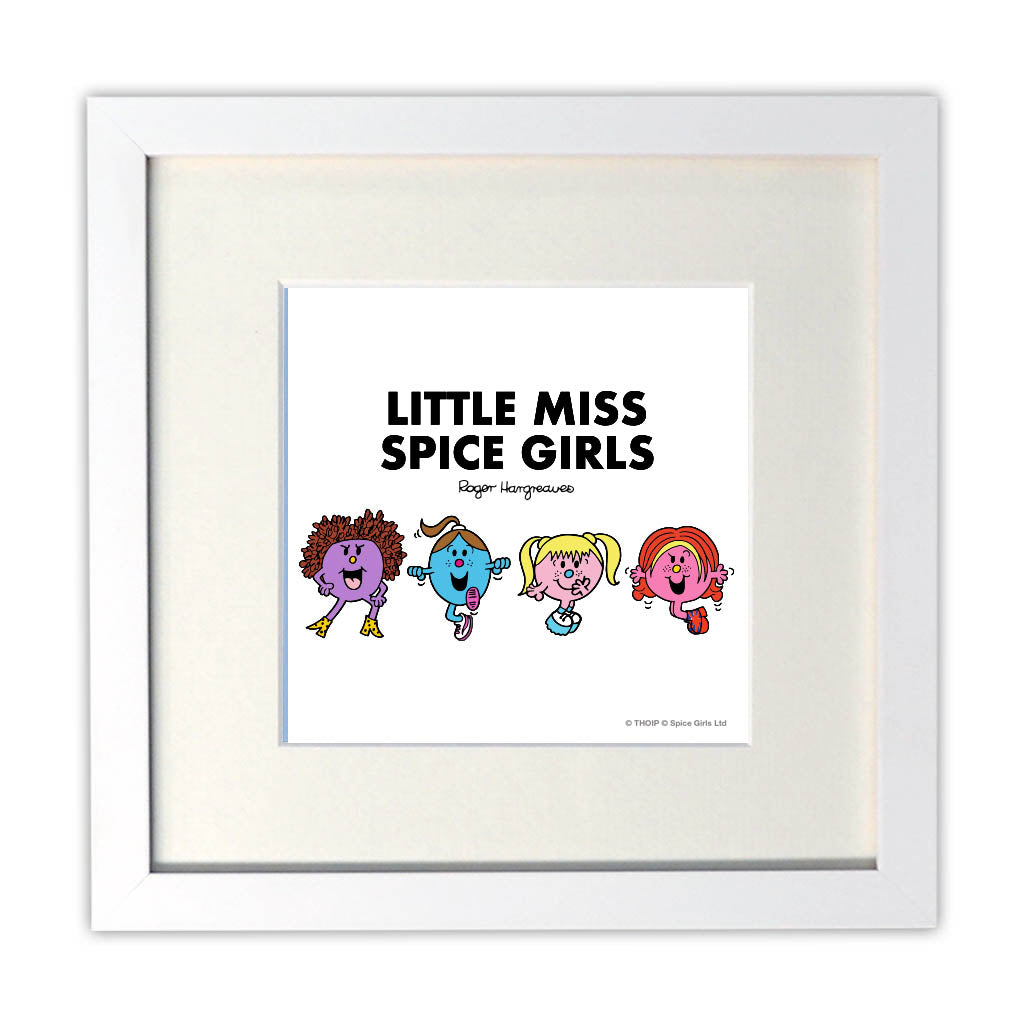 Little Miss Spice Girls Art Print
