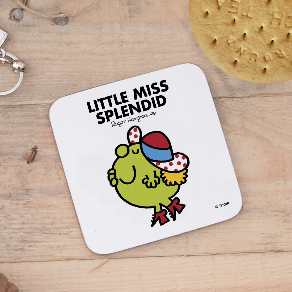 Little Miss Splendid Cork Coaster (Lifestyle)