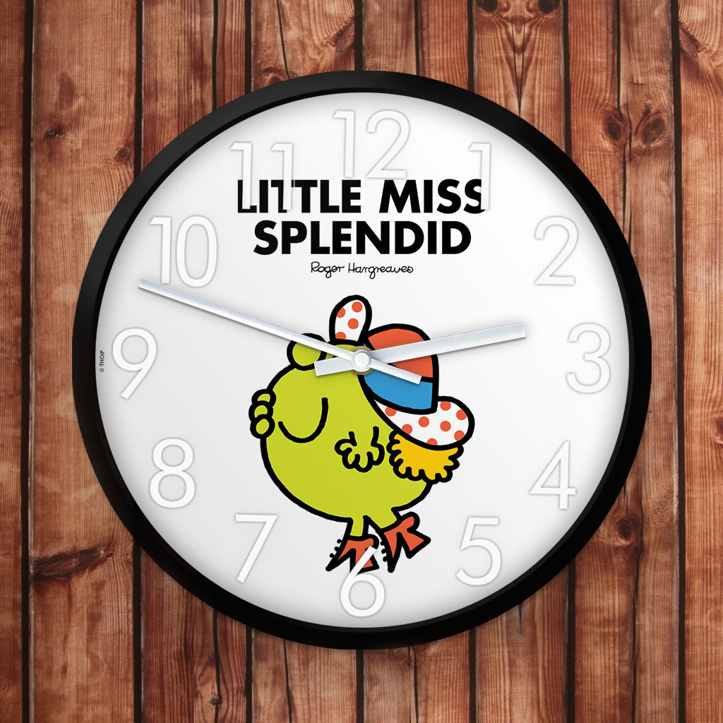 Little Miss Splendid Personalised Clock (Lifestyle)