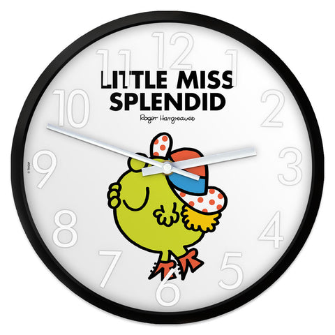Little Miss Splendid Personalised Clock