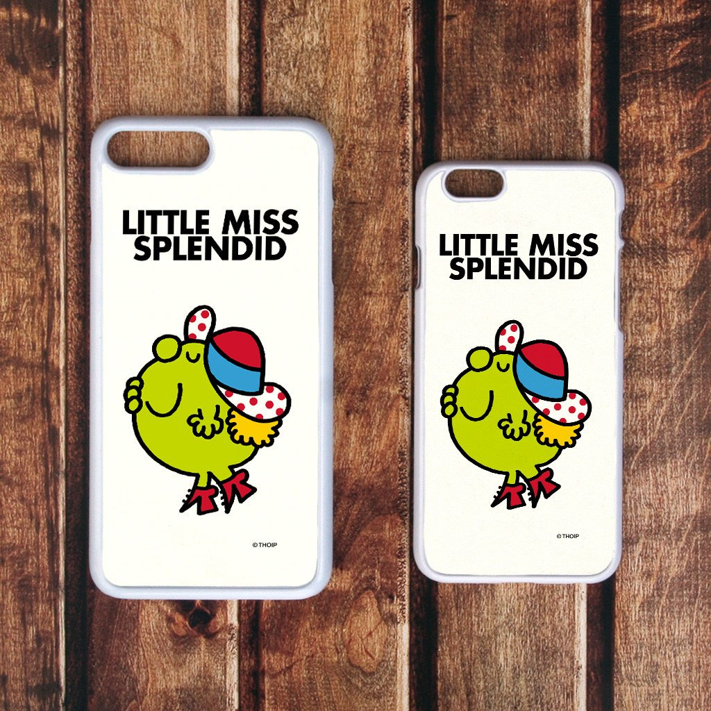 Little Miss Splendid White Phone Case (Lifestyle)