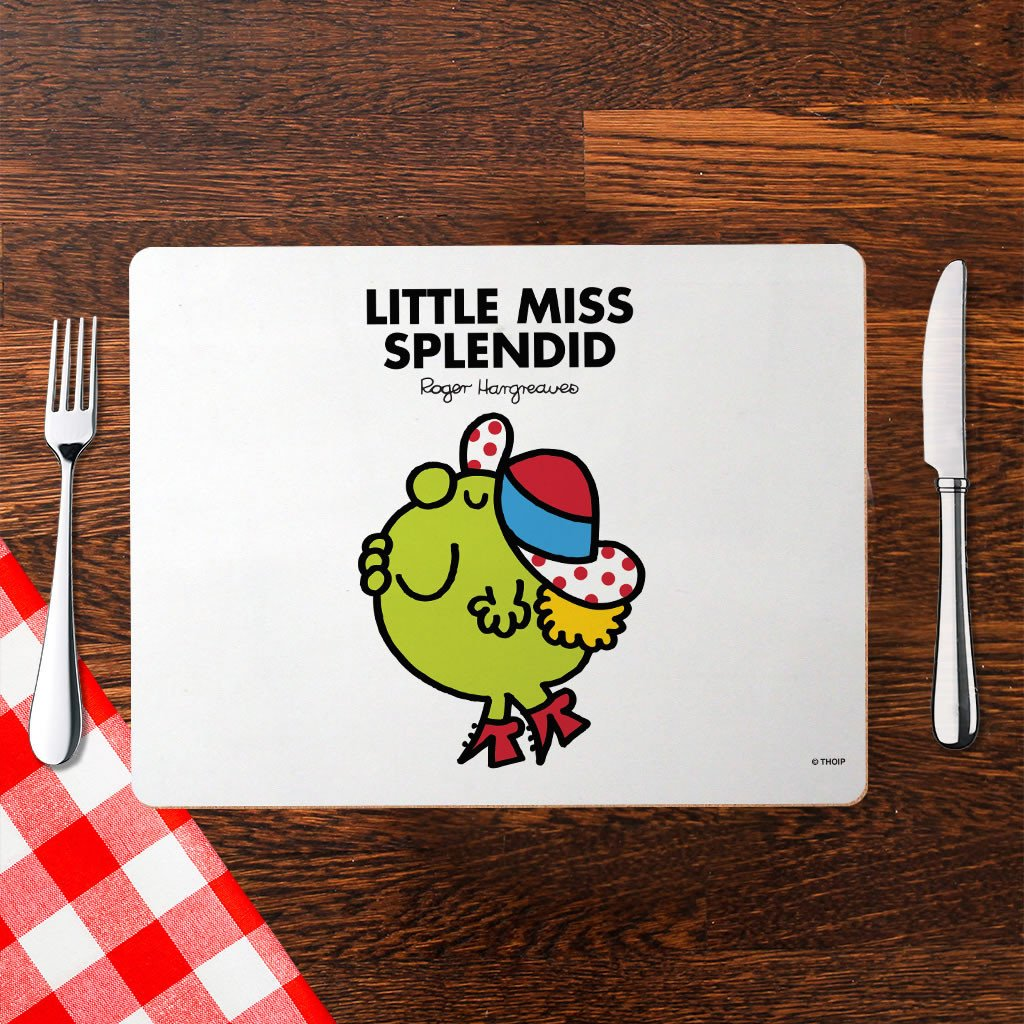 Little Miss Splendid Cork Placemat (Lifestyle)