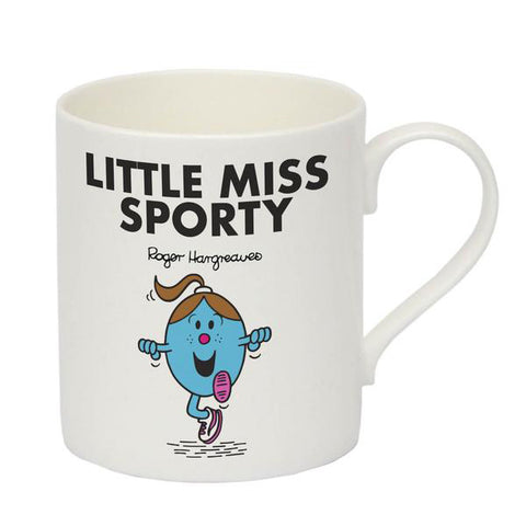 Little Miss Sporty Bone China Mug