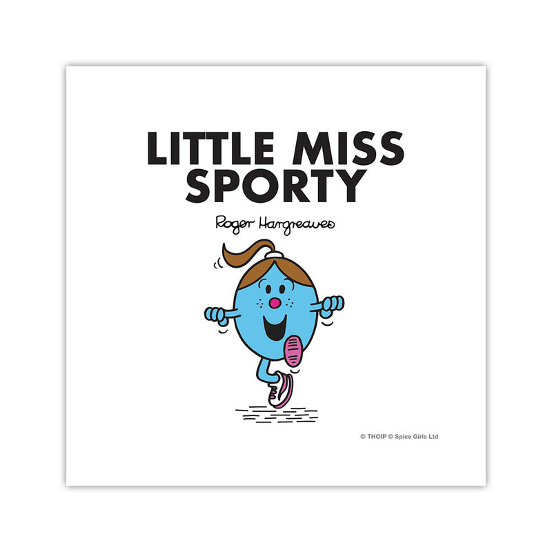 Little Miss Sporty Art Print