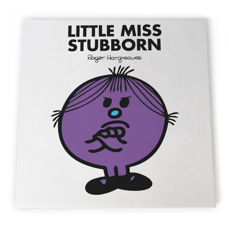 Little Miss Stubborn Canvas