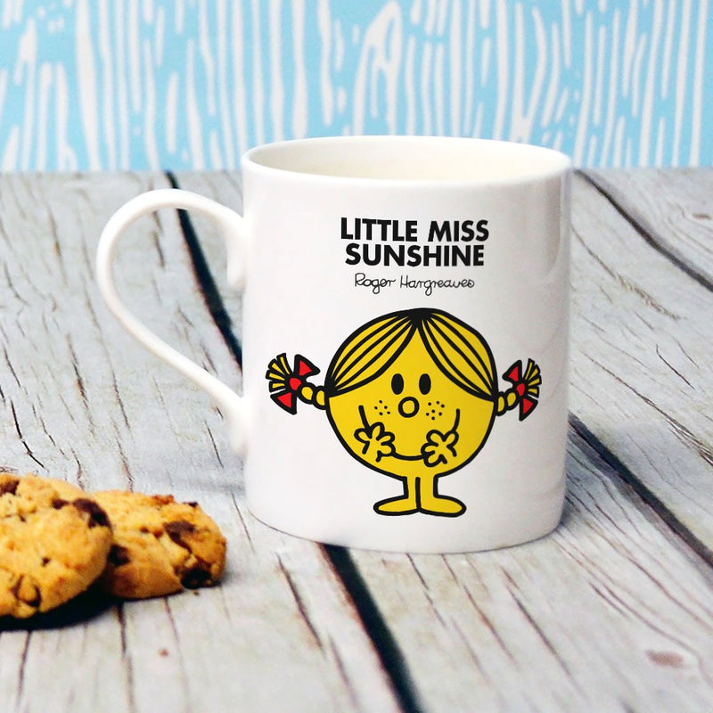 Little Miss Sunshine Bone China Mug (Lifestyle)