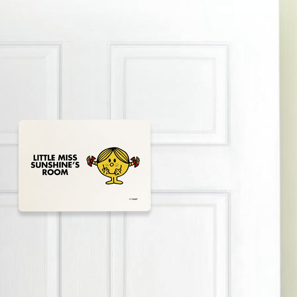 Little Miss Sunshine Door Plaque (Lifestyle)