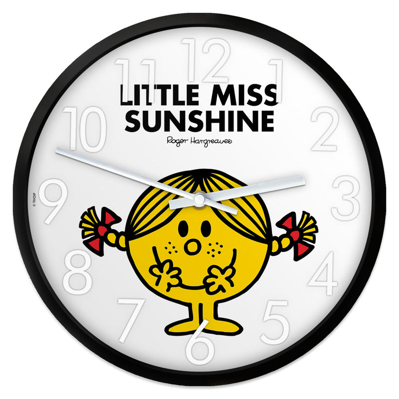 Little Miss Sunshine Personalised Clock