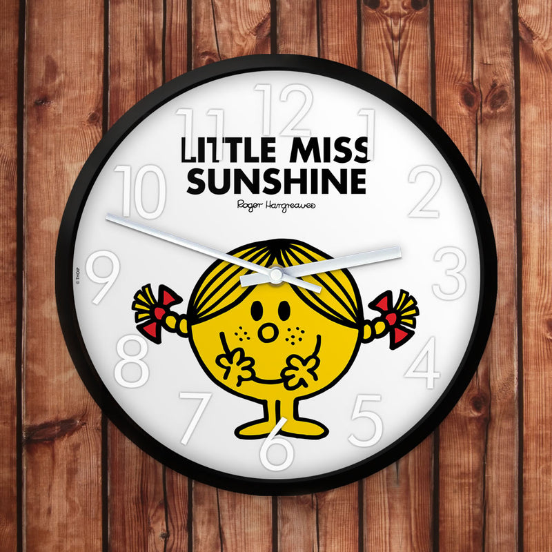 Little Miss Sunshine Personalised Clock (Lifestyle)