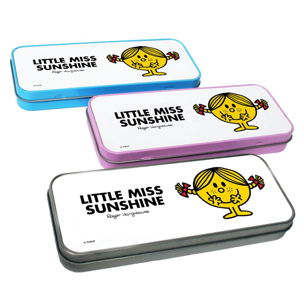 Little Miss Sunshine Pencil Case Tin