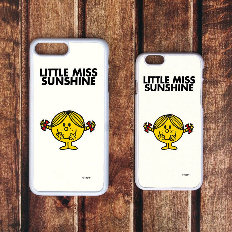 Little Miss Sunshine White Phone Case (Lifestyle)