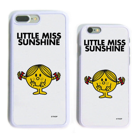 Little Miss Sunshine White Phone Case